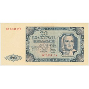 20 złotych 1948 - DC