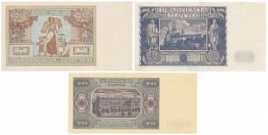 20 złotych 1931-1948 (3szt)
