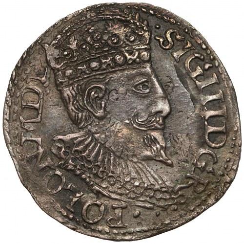 Zygmunt III Waza, Trojak Olkusz 1598 - małe popiersie