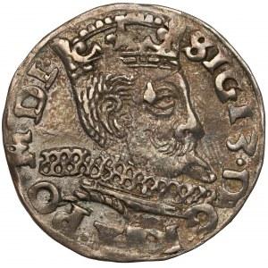 Zygmunt III Waza, Trojak Wschowa 1598 - litery H R-K - rzadszy