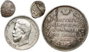 Rosja, od łezki do rubla - zestaw (4szt)