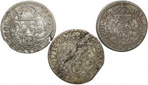 Szóstaki Jan II Kazimierza - zestaw (3szt)