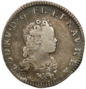 Francja, Ludwik XV, 1/10 ecu 1716-W, Lille