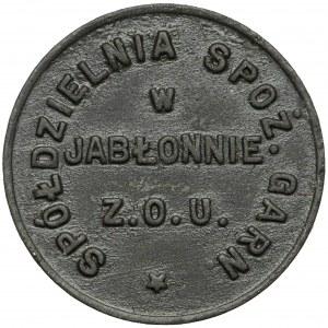 Jabłonna, Spółdzielnia Garnizonu Z.O.U. (2. Batalion Mostów Kolejowych), 20 groszy
