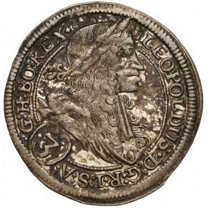 Austria, Leopold I, 3 krajcary 1697 IA, Graz