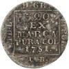 Poniatowski, Grosz srebrny 1781 E.B. - NAJRZADSZY rocznik