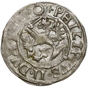 Pomorze, Filip II, Półtorak (Reichsgroschen) 1612, Szczecin