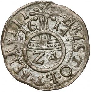 Pomorze, Filip II, Półtorak (Reichsgroschen) 1614, Szczecin