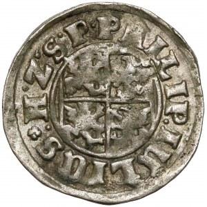 Pomorze, Filip Juliusz, Półtorak (Reichsgroschen) Nowopole 1611