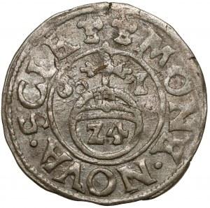 Schleswig-Holstein-Gottorp, Johann Adolf, 1/24 Taler 1601