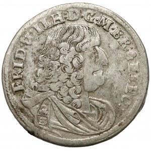 Brandenburg-Preussen, Friedrich Wilhelm, 2/3 Taler 1675 GD-Z