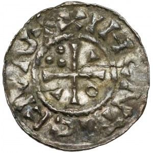 Herzogtum Bayern, Regensburg, Heinrich II., (1002-1009) Denar o.J.
