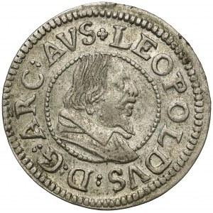 Austria, Tyrol, Leopold V, 3 krajcary bez daty