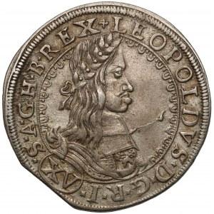 Austria, Leopold I, 15 krajcarów 1662, Wiedeń