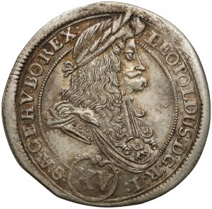 Austria, Leopold I, 15 krajcarów 1696, Kremnica