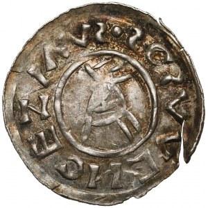 Czechy, Brzetysław I (1037-1055), Denar