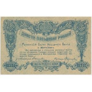 Ukraine, Zhytomyr, 250 Rubles 1920