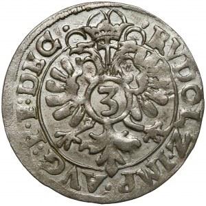 Pfalz-Zweibrücken, Johann I der Ältere, 3 Kreuzer 1598