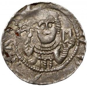 Władysław II Wygnaniec, Denar - Książę i Biskup - leżące E