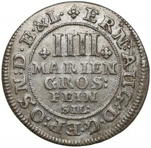 Braunschweig-Calenberg-Hannover, Ernst August, 4 Mariengroschen 1681