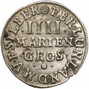Braunschweig-Calenberg-Hannover, Johann Friedrich, 4 Mariengroschen 1669