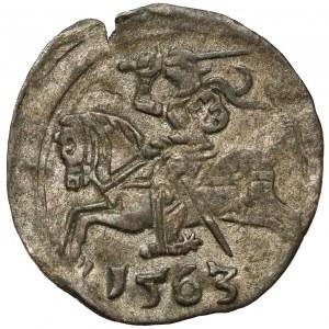Zygmunt II August, Denar Wilno 1563 - rzadki