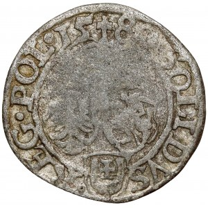 Stefan Batory, Szeląg Olkusz 1580 - Jastrzębiec - RZADKI