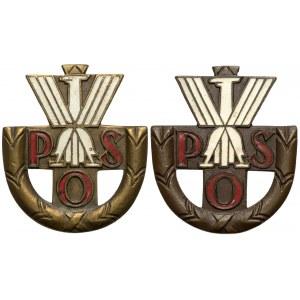 Państwowe Odznaki Sportowe - wyk. Nagalski i B-cia Sztajnlager - zestaw (2szt)