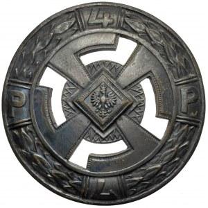 Odznaka 4 Pułk piechoty Legionów - wzór 4