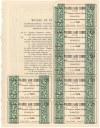 Wileński Bank Ziemski, Em.1, 150 zł 1937 - imienna - RZADKA