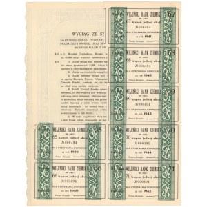 Wileński Bank Ziemski, Em.1, 150 zł 1937
