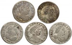 Szóstaki Jan III Sobieskiego - zestaw (5szt)