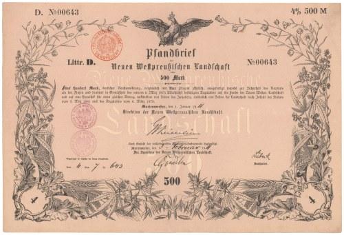 Marienwerder (Kwidzyn), 500 mk 1911