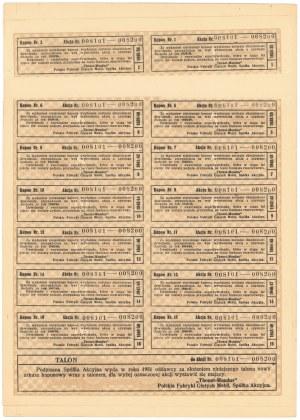 THONET-MUNDUS Polskie Fabryki Giętych Mebli, 100x 100 zł 1934