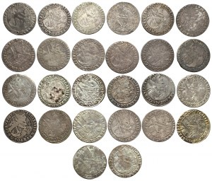 Orty koronne 1621-1624, zestaw (26szt)