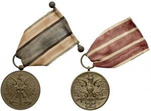 Medal Polska Swemu Obrońcy - zestaw (2szt)