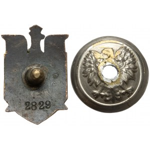 Odznaka Przysposobienie Wojskowe Leśników - Miniaturka