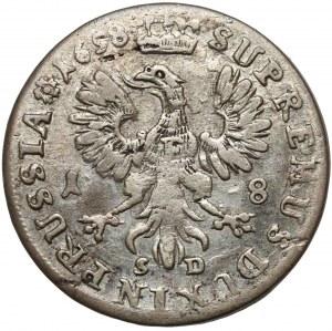 Brandenburg-Preussen, Friedrich III, Ort Königsberg 1698 SD