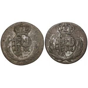 Księstwo Warszawskie, 5 groszy 1811 - IS i IB (2szt)