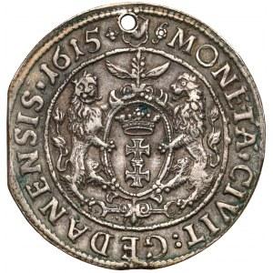 Zygmunt III Waza, Ort Gdańsk 1615 - owalna