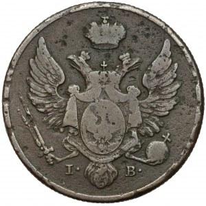 3 grosze 1827 IB z MIEDZI KRAIOWEY
