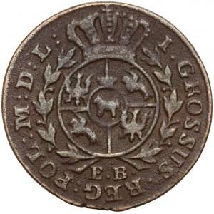 Poniatowski, Grosz 1785 E.B.
