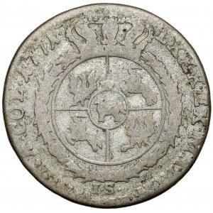 Poniatowski, Złotówka 1771 I.S. - rzadki