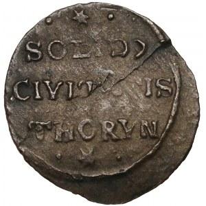 Jan II Kazimierz, Szeląg Toruń 1666 - mała