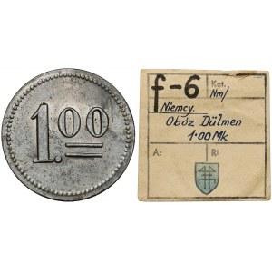 Obóz w Dülmen (Niemcy), 1.00 marka (bez daty) - ex. Kałkowski
