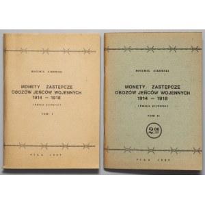 Sikorski - Monety zastępcze obozów 1914-1918, Tom I i II (2szt)