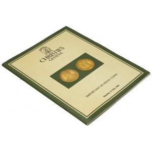 Important Russian Coins, Christie's Geneva 1984 -