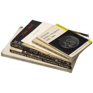 Zestaw publikacji numizmatycznych (6szt)
