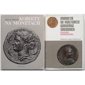 Moneta w kulturze wieków średnich i Kobiety na monetach (2szt)