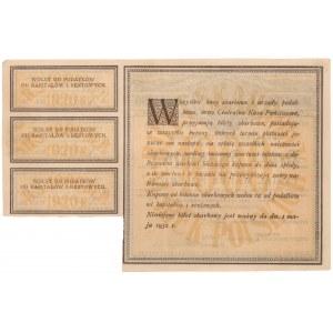 Bilet Skarbowy, 1.000 mkp 1920 - Serja I BI